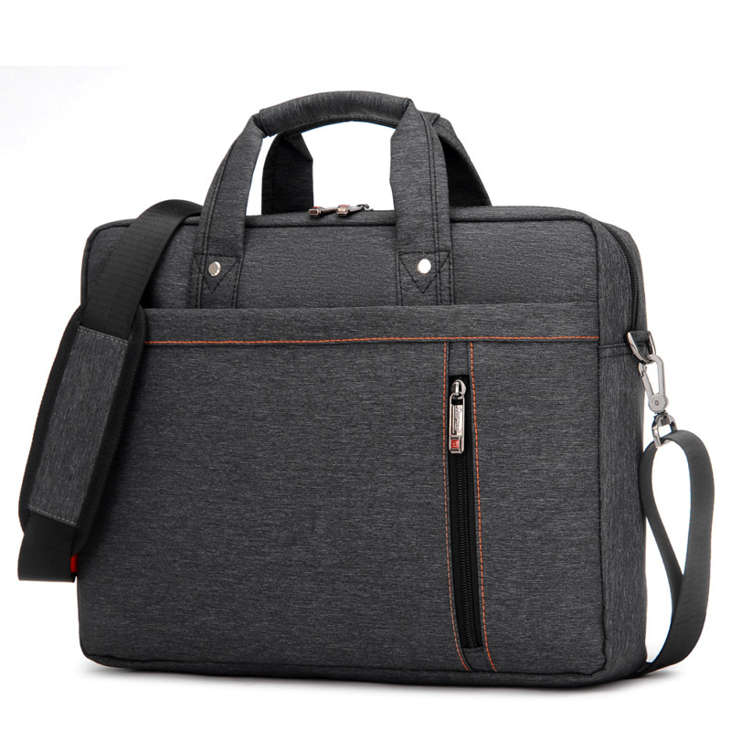 Office Bags For Men Laptop Bag 13 14 15 17inch Waterproof Black Blue Gray Purple Nylon Briefcase Women Shoulder Handbag