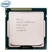 Intel Core i5 3330 i5-3330 Processor 77W 6M Cache 3.0GHz LGA 1155 CPU 100% working properly PC Computer Desktop CPU
