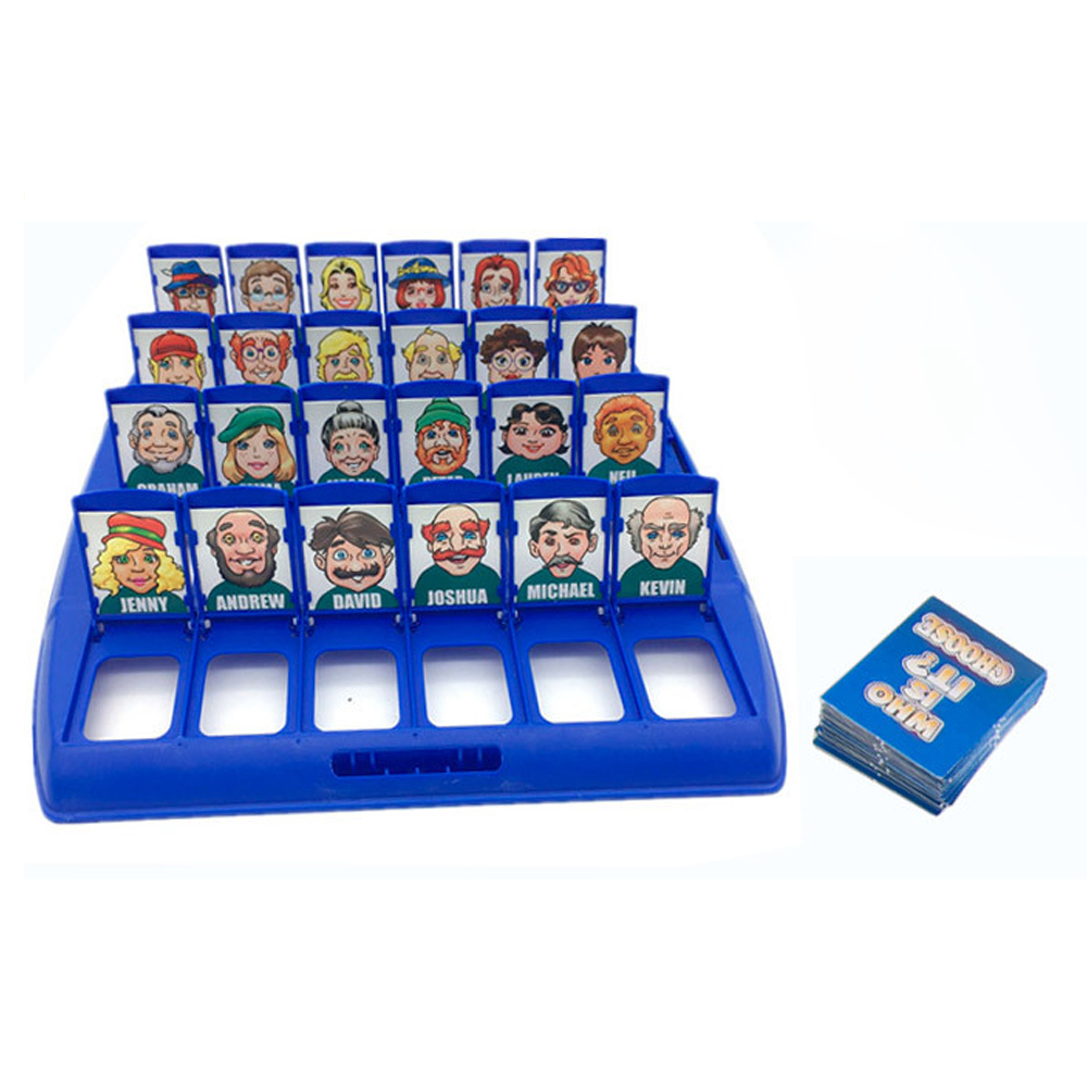 Funny Family Guessing Games Kids Toys Who Is It Classic Board Game Interactive Toys For Children Party Play Birthday Gift 5