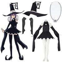 Anime Soul Eater Blair Cosplay Black dress cosplay Costume Halloween
