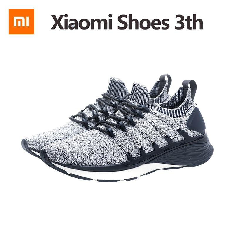 3th Xiaomi chaussures de course pour hommes Mijia Version 3 homme baskets maille respirante chaussures de sport poids léger chaussures de marche style de vie