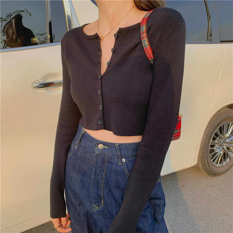 2020 New Summer Thin Knitted Cardigan Women Spring Long
