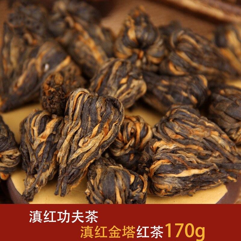 170g / box China Yunnan Fengqing Dian Hong Tea Premium DianHong Black Tea Beauty Slimming Green Food for Health Care Lose Weight 2