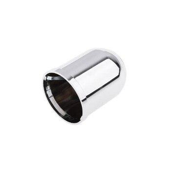 Cubierta protectora para tapa de bola de remolque de coche, clip cromado de plástico, accesorios de coche, barra de remolque, cubierta de bola de remolque de enganche