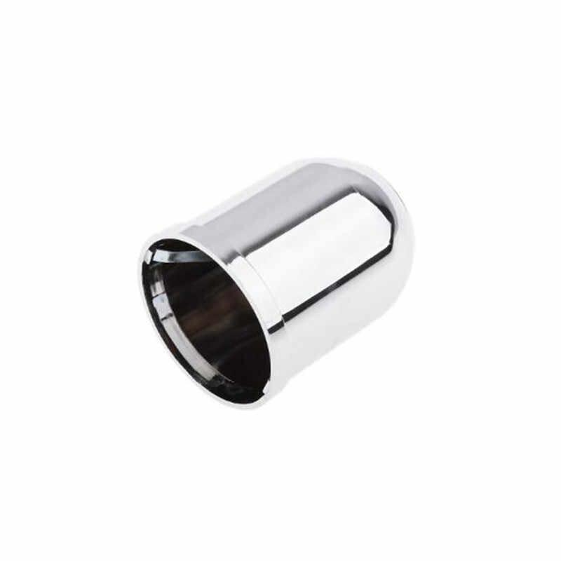 Reboque do carro bola tampa protetora plástico cromado clipe acessórios do carro barra de reboque bola reboque engate towball capa