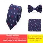 Индивидуальные 8 см мужские шелковые галстуки формальные Полосатый горошек клетка, Жаккард свадебные галстуки Новая мода Классический кор... - 1