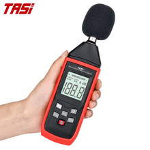 Tasi ta8151 medidor de nível de som digital testador de ruído detector tound decible monitor 30-130db alarme de instrumento de medição de áudio