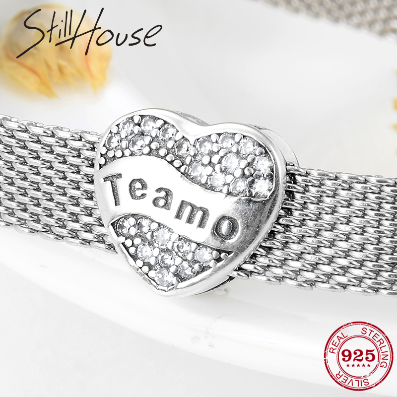 Reflections Sterling Silver I Heart Usa Bead