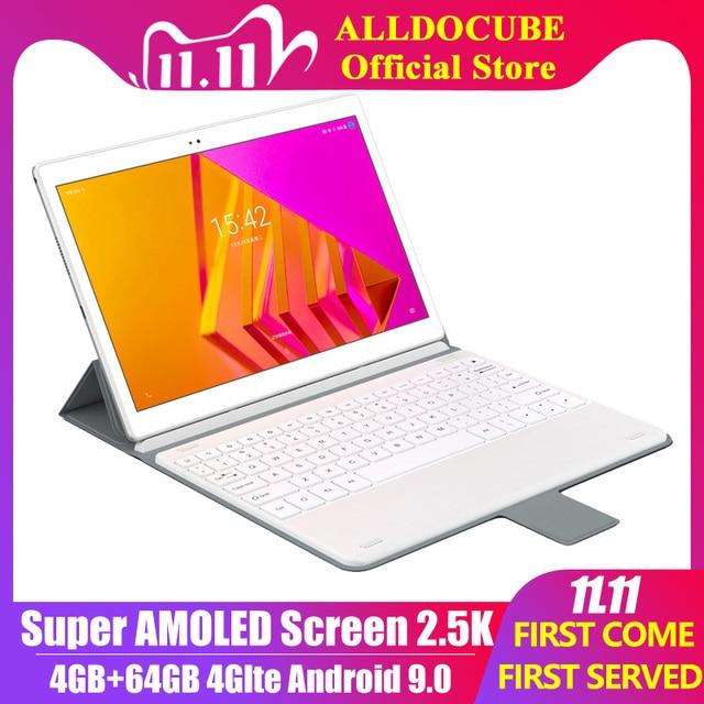 Alldocube X Neo أندرويد 9.0 المزدوج 4G LTE اللوحي أنف العجل 660 4GB RAM 64GB ROM 10.5 بوصة سوبر Amoled شاشة 2.5k 2560 × 1600 IPS