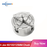 4 mandíbula torno mandril K72-80/K72-100/K72-125 1 * chave do mandril de segurança 3 * parafuso de montagem endurecido ferramenta reversível para a máquina de madeira cnc