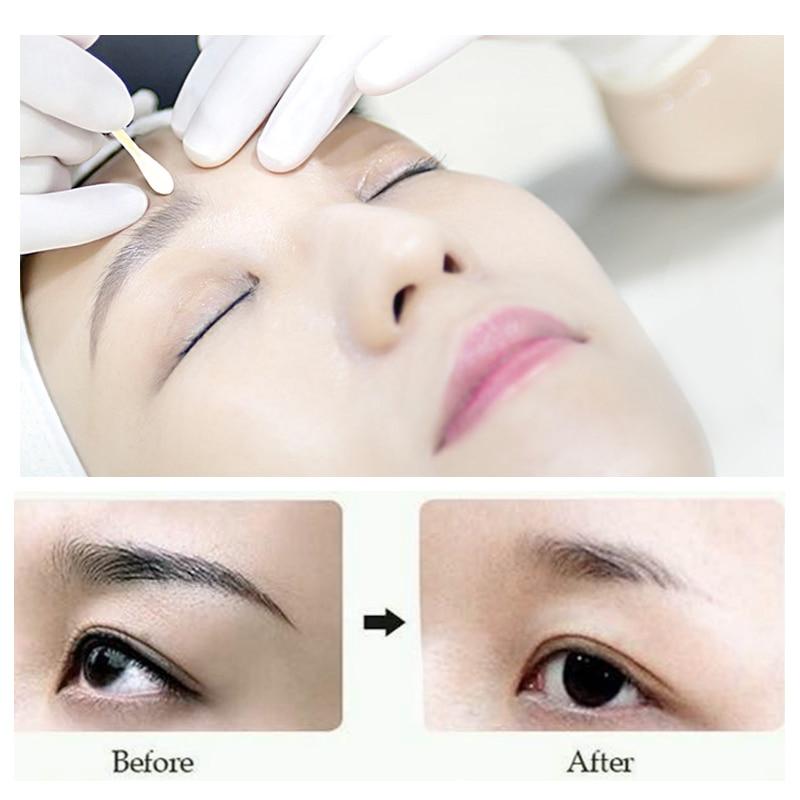 Купить с кэшбэком 2pcs Aimoosi Correction Fliud Remove Tattoo Permanent makeup eyebrow tattoo microblading eyebrow removal Auxiliary accessories