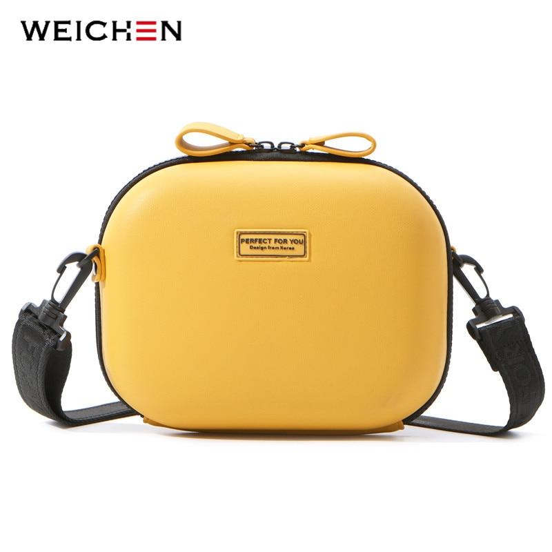 WEICHEN NEUE Härte Box Umhängetasche Leder Handtasche Damen Messenger Schulter Taschen Bolsa Sac Weiblichen Handtasche MODE Frauen Tasche