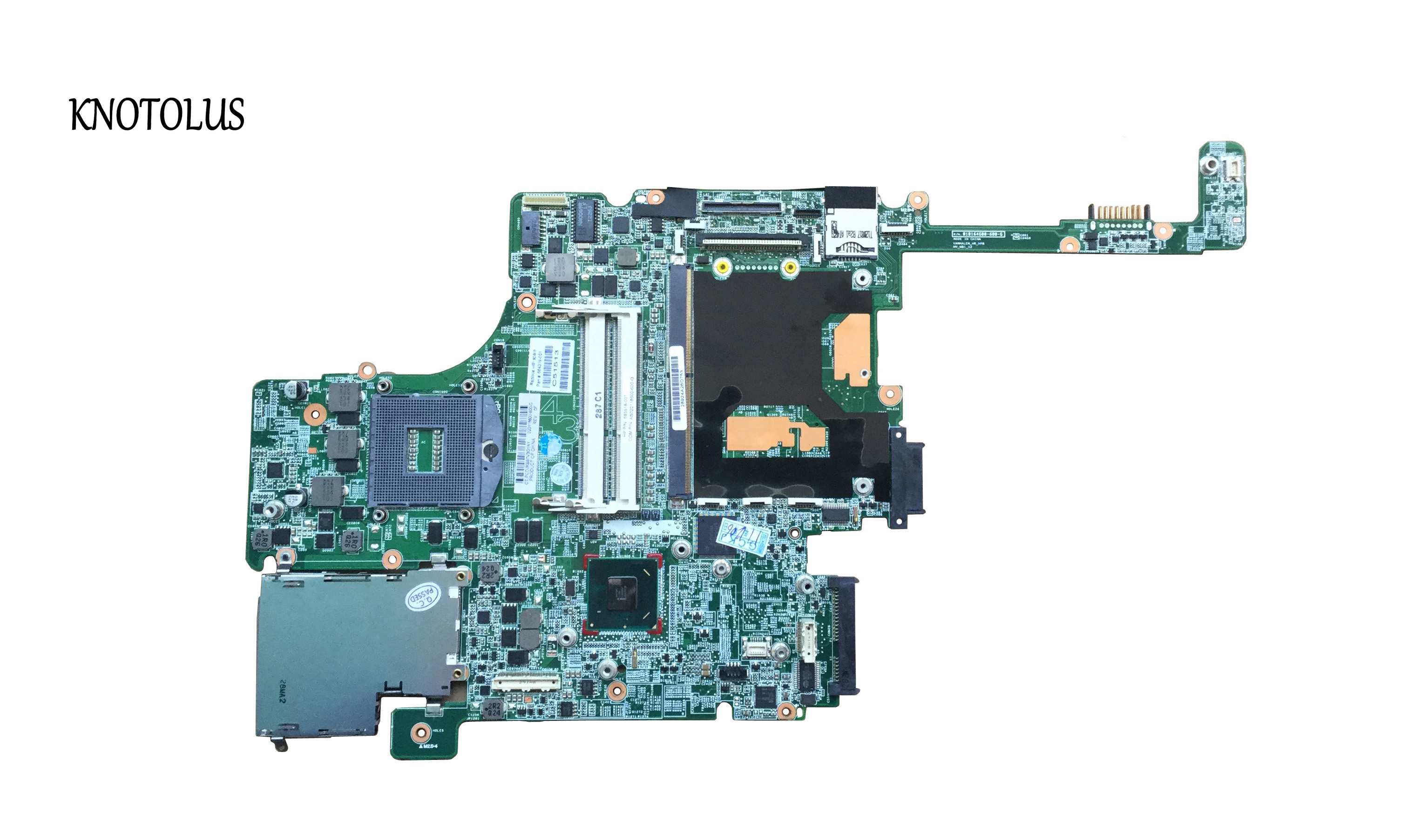 High Quality For HP 8560W Motherboard 652638-001 Intel QM67 DDR3 Green Model 100% Fully Tested