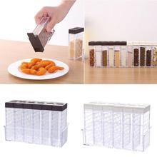 Rack Storage-Container Seasoning-Box Spice-Jar Kitchen Sprayer Bottle-Tool Salt Pepper