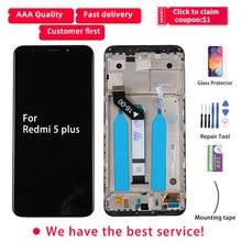 LCD Für Redmi 5 Plus LCD Display Touch Screen Mit Rahmen IPS Original MEG7 MEI7 Für Xiaomi Redmi 5 Plus display Ersatz