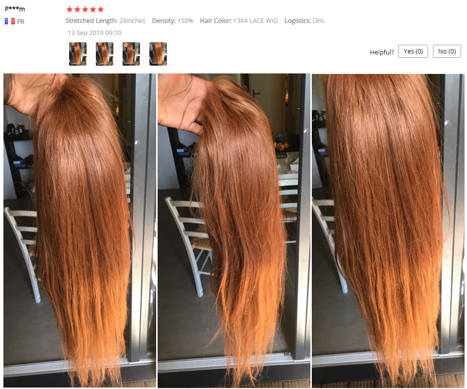 H57eccbedfc91460493e131a0bf325b4en Ginger Blonde Lace Front Wig Straight Pre Plucked 13X4 Lace Front Wigs Highlight Colored 30 Lace Wig Human Hair Blonde Non-Remy