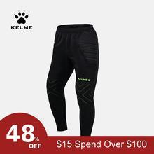 KELME, мужские футбольные штаны Survete, спортивные тренировочные штаны, защита для бега, Вратарские спортивные штаны K15Z408L