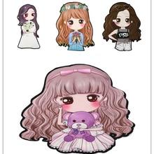 Lol/Модная одежда для девочек; милые наклейки «сделай сам»; наклейки для глажки; термонаклейки для одежды