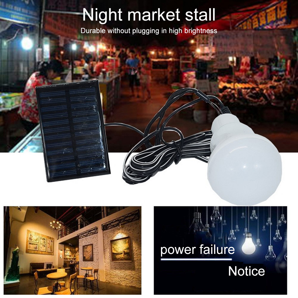 12 22 LEDs Solar Light Hiking Tent Light Camping Hanging Lamp With Remote Control 3W/5W  Rechargeable Solar Emergency Lamps