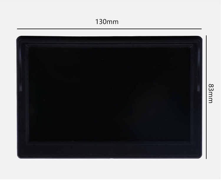 """5 Cal samochodów Monitor TFT LCD 5 """"HD cyfrowy 16:9 800*480 ekran 2 Way wejście wideo dla kamera cofania DVD VCD"""