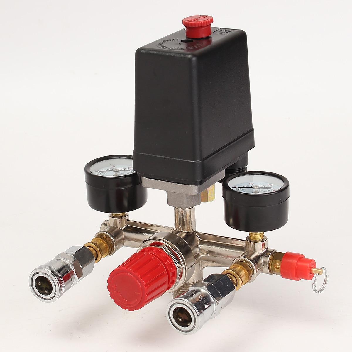 compresseur d/'air Régulateur de pression avec pompe Interrupteur pour Wind