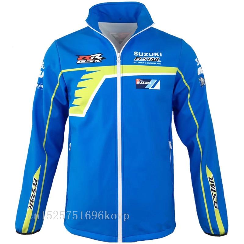 New Arrival Motocross Sweatshirts Outdoor Sports Softshell Jacket For Kawasakimotorcycle Racing Jackets Keep Warm Bw