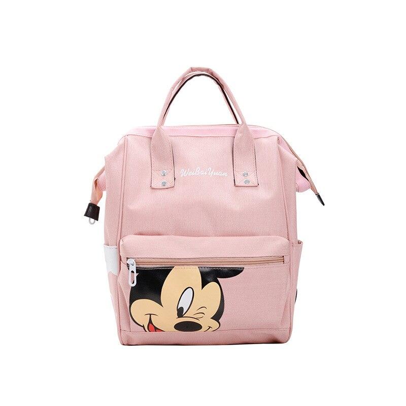 New Cartoon Children Backpack Waterproof Oxford Canvas Backpack Large Capacity Travel Bag Men And Women Travel School Bags