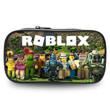 ROBLOX Bag Zipper Pencil Case Twill Canvas Large Pen Box Pencil Bag