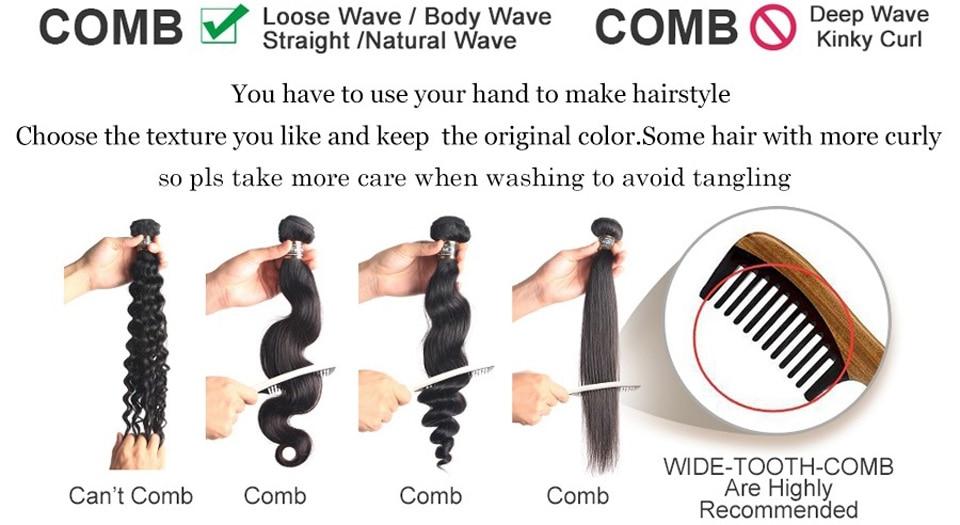 dianteira do laço para preto perucas longas