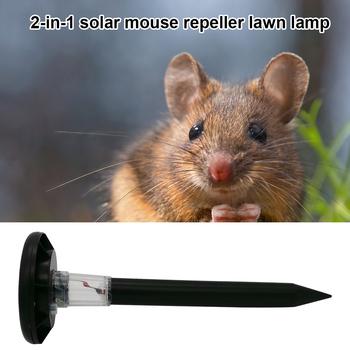 Kolorowe diody LED oswietlenie ogrodu słonecznego lampa stawka ultradźwiękowy mysz odstraszacz myszy na trawnik ogrodowy ulica lampa świąteczna tanie i dobre opinie CN (pochodzenie) MICE Ultradźwiękowe odstraszacze szkodników Brak Mice Repeller Mouse Repeller