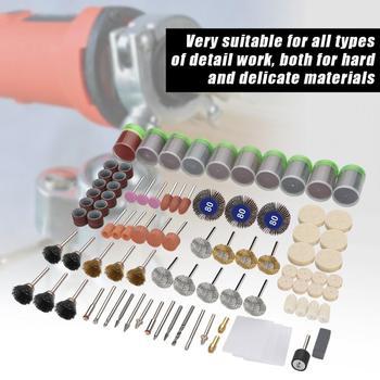 цена на 350Pcs Grinding Sanding Wheel Polishing Rotary Tool Accessories Assortment  Kit Set Abrasives Tool Accessories Domestic Delivery