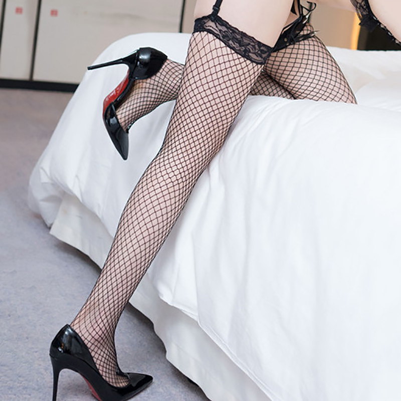 Women Summer Thigh High Stocking Over Knee Socks Sexy Girl Female Hosiery Nylon Lace Style Stay Up Plus Size Stockings