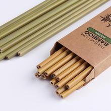 Straw-Brush Biodegradable with for Kids And Adults Hotel Catering 10pcs Bamboo