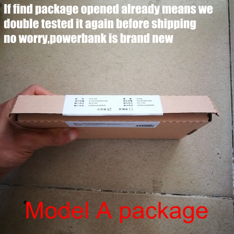 Model A package