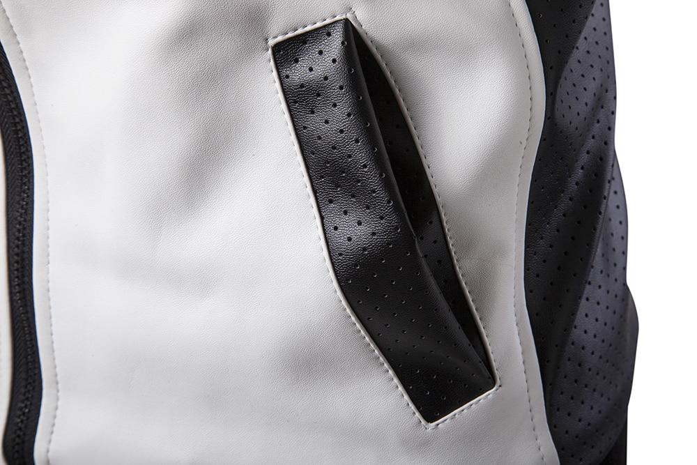 Американская уличная мода, мужская куртка, высшее качество, брендовая Дизайнерская куртка на молнии в стиле хип хоп, Мужская джинсовая курт... - 6