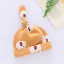 Baby Hat Cotton Printing Caps Toddler Boy Girl Infant Beanie Hat Spring Autumn Winter Children's Hats Newborn Caps 0-6M(China)