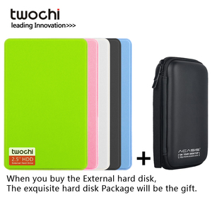 Original twochi 2.5 Inch External Hard Drive Storage 320G 500G Mini USB3.0 1TB 750G 160G 250G HDD Portable External HD Hard Disk