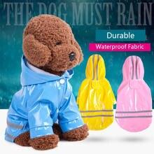 Светильник лый красочный водонепроницаемый дождевик для собаки