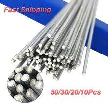 Flux-Cored Brazing-Rod Solder-Rod Welding-Wire Low-Temperature Aluminum 15/10/30/50-pcs