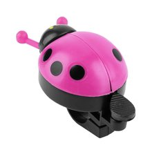\Lovely Kid Beetle Ladybug Ring Bicycle Bell Cycling Bike Ride Horn Alarm Trumpet Ring Horn Sound Warn Louder Wings Cute Gift bicycle bike handlebar ball air horn trumpet ring bell loudspeaker noise maker free shipping