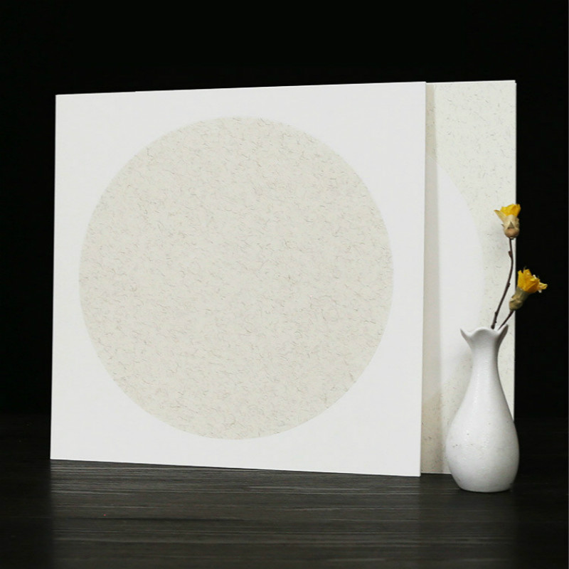 Chinese Rice Paper Card Raw Xuan Paper Thicken Soft Calligraphy Painting Mounting Paper Cards Lens Papers Carta Di Riso