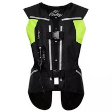 Nouvelle Moto rcycle airbag gilet Moto Racing professionnel avancé Airbag système moto cross protection airbag veste(China)