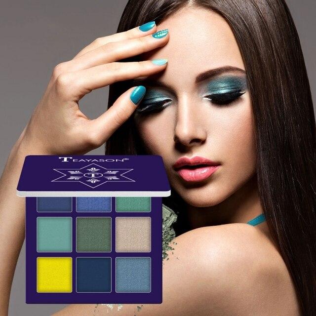 Shiny glitter Makeup Eyeshadow Pallete makeup Shimmer Pigmented Eye Shadow Palette Make up Palette 1