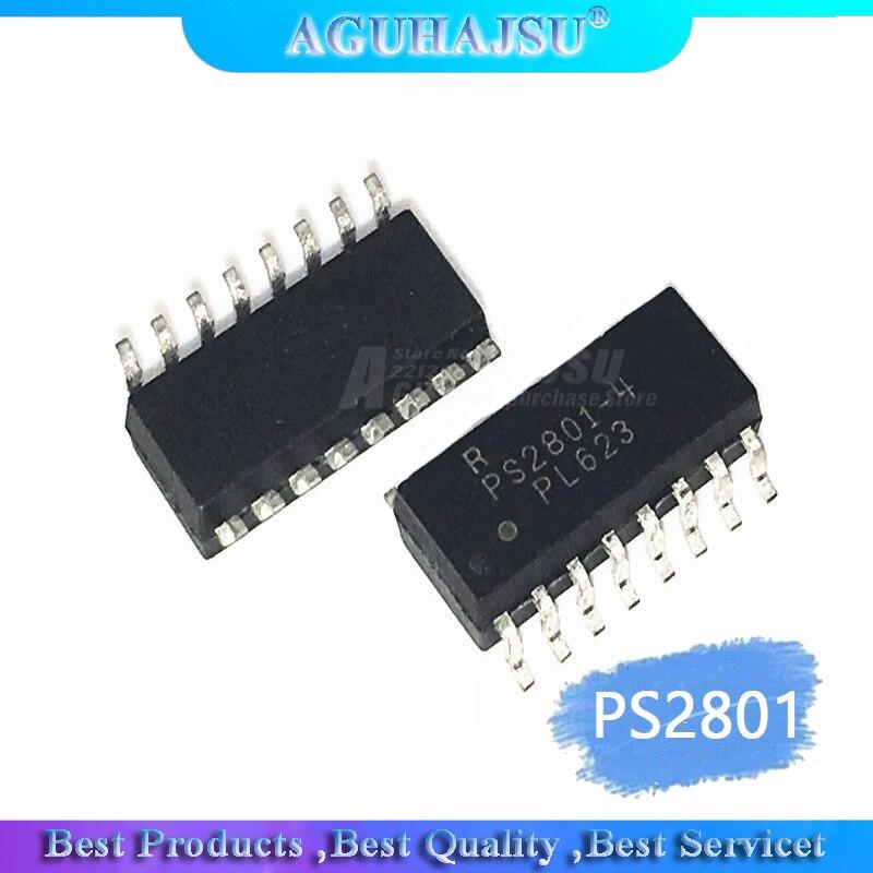 1pcs/lot Optocouplers PS2801-4-F3-A PS2801-4 PS2801 SOP16   Original