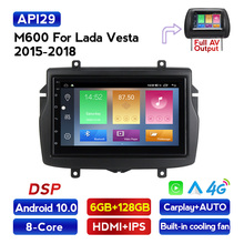 Dvd-Player Stereo-Head-Unit Car-Radio FM Navagation Carpaly 2din Android-10 Lada