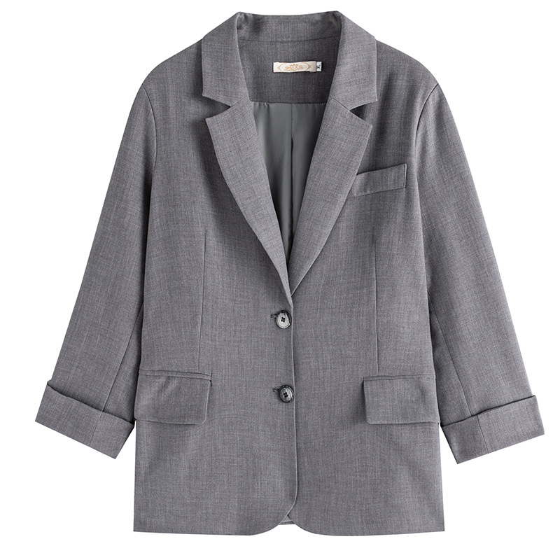 Temperament plus size women's L-5XL autumn and winter Ladies office jacket small suit High quality plus size loose ladies Blazer