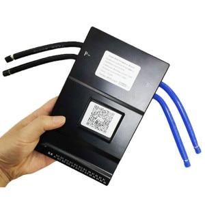 Image 2 - 20S 100A akıllı BMS ile 0.6A aktif batarya koruma levhası Bluetooth 14S ~ 20S 100A telefon APP lifepo4 li ion 16S 20S