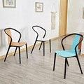 Современный пластиковый стул для досуга  обеденные стулья для столовой  ресторанная мебель  уличная кафе  гостиная  спальни  Кухонное кресл...