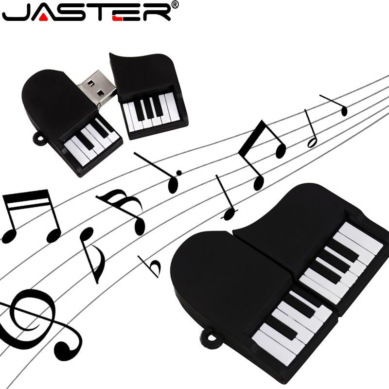 JASTER USB Flash Drive  Cartoon USB 2.0 Grand Piano 4GB8GB16GB32GB64GB128GB Ornament Computer Accessories Storage Usb Pendrive
