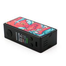 Vapelustion Hannya Mini 80W TC Box Vape Mod Single 18650 Battery Bypass 510 Thread Cool Design Ecigarette Mod